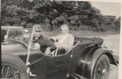 Chas. Addams & Jim Geraghty South Hampton 1947