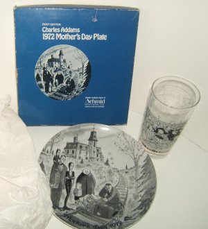 Charles Addams' Plate & Glass