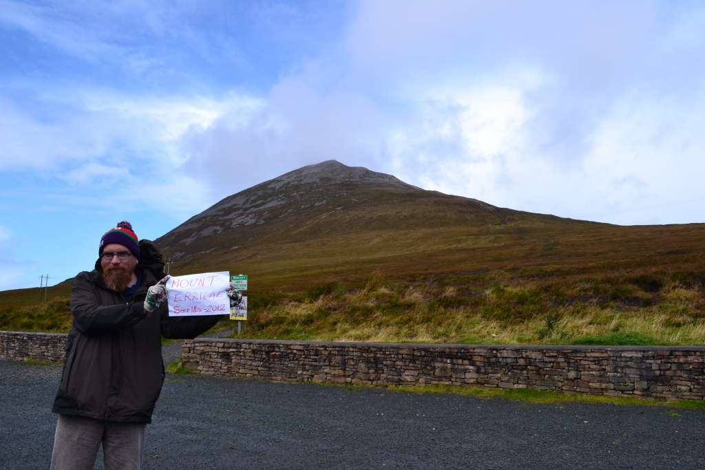 At the base of Mount Errigal in County Donegal - Douglas Kelly.