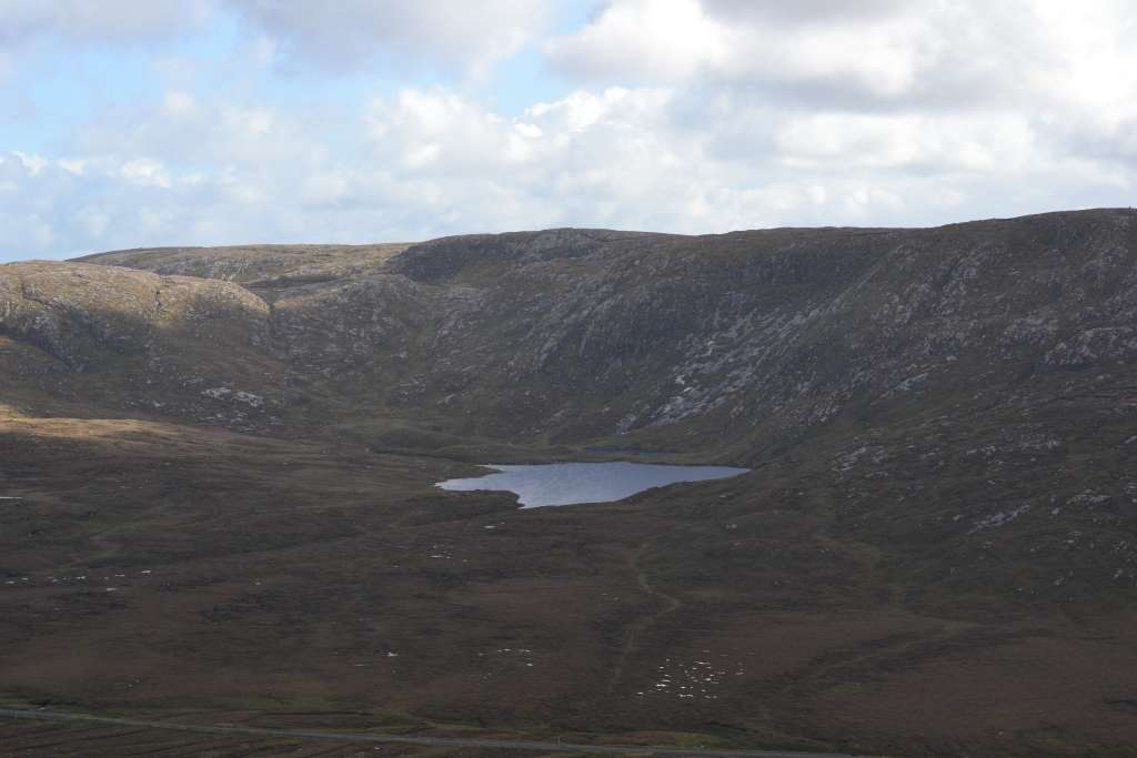View from Mount Errigal.