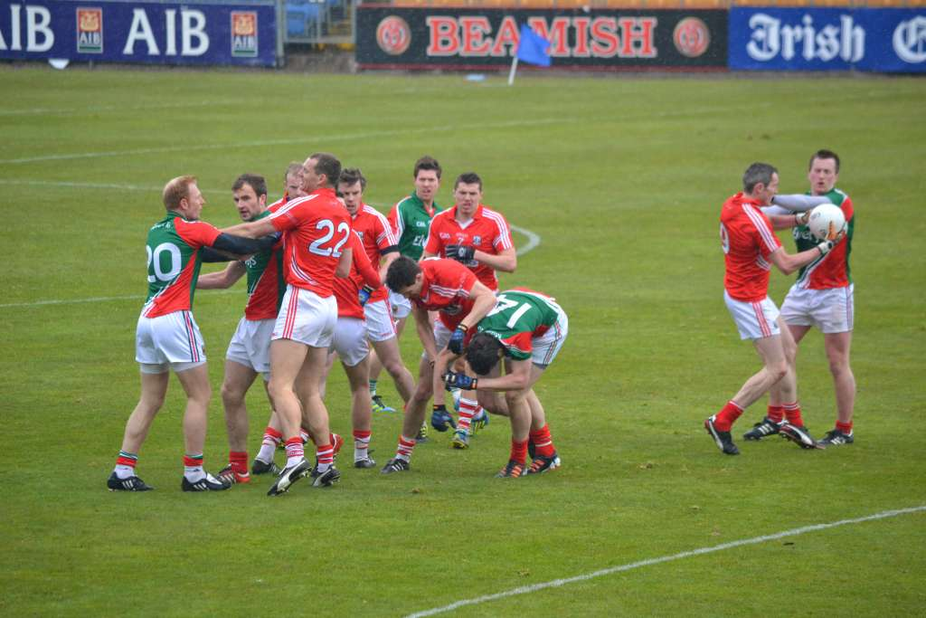 Midfield battle Cork v Mayo