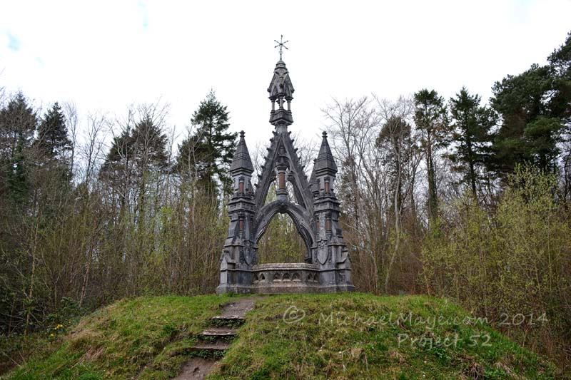 Belleek Castle Mausoleum Project 52 #15