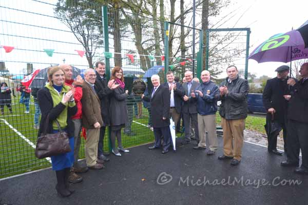 Minister Ring Opens MUGA Park In Swinford