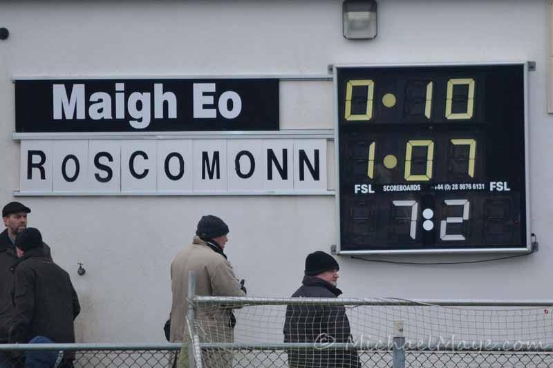 Mayo v Roscommon 20th January 2013