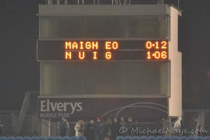 Mayo v NUIG 10th January 2014