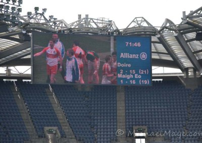Mayo v Derry Semi-Final 12th April 2014