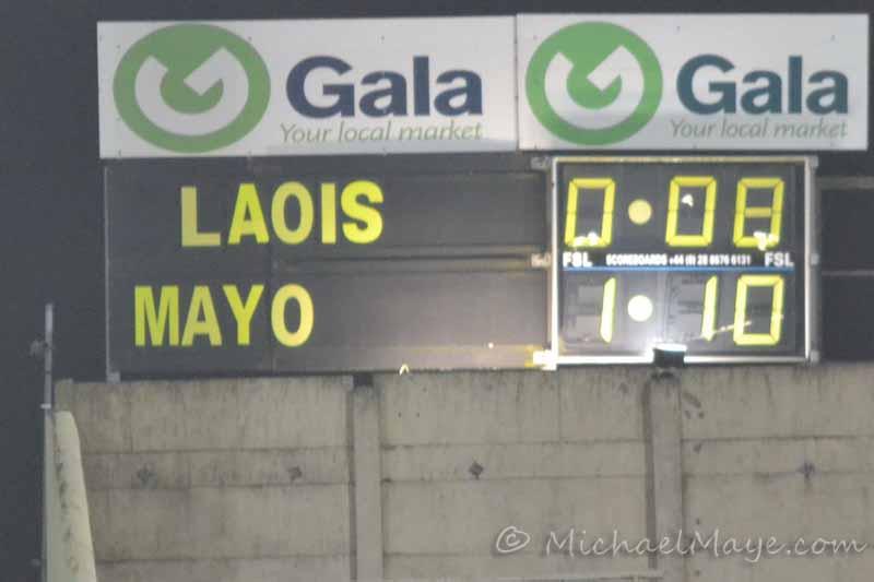 Laois v Mayo 4th February 2012