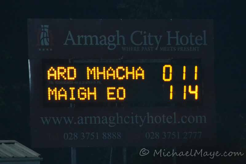 Armagh v Mayo 3rd March 2012