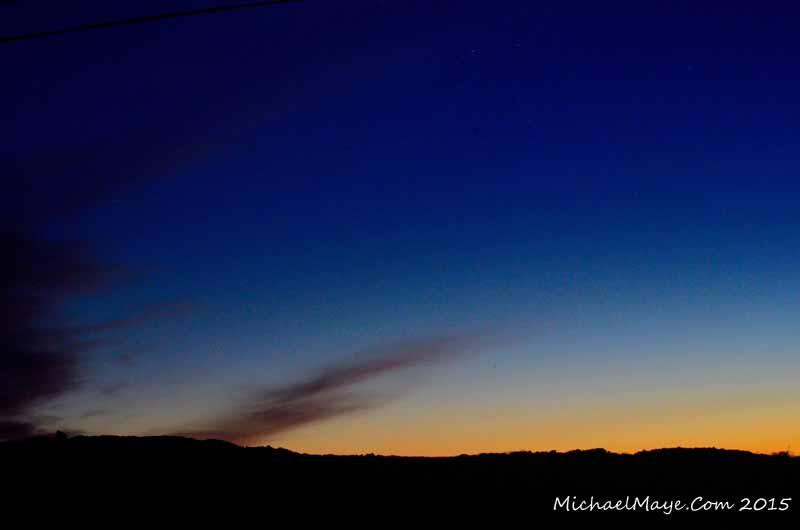 Aurora Borealis Over Swinford 2015