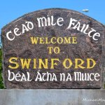 swinford town sign