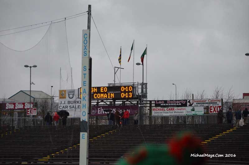 Roscommon v Mayo 17th January 2016