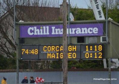 Cork v Mayo 31st January 2016