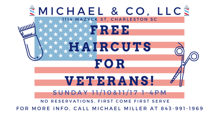 Free Haircuts for Veterans