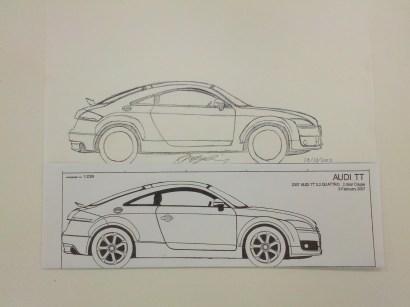 Audi TT Proportions