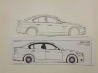 BMW 3-Series Proportions