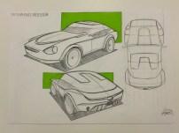Datsun 240Z Redesign