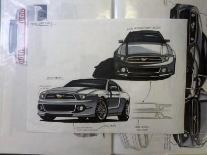 Development Render plus Final Design (Top Right)