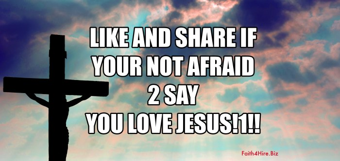 Inspirational Jesus Meme