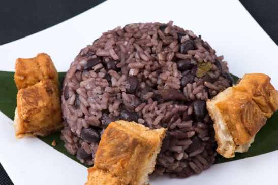 cuba black beans & rice
