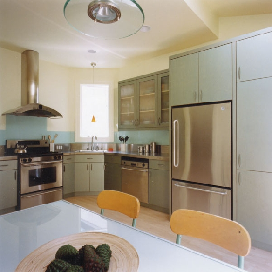 vitage feel with modern style kitchen