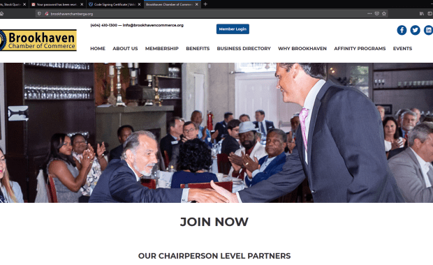 Brookhaven Chamber of Commerce website