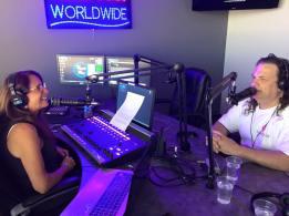 Life Rocks Radio promoting a show