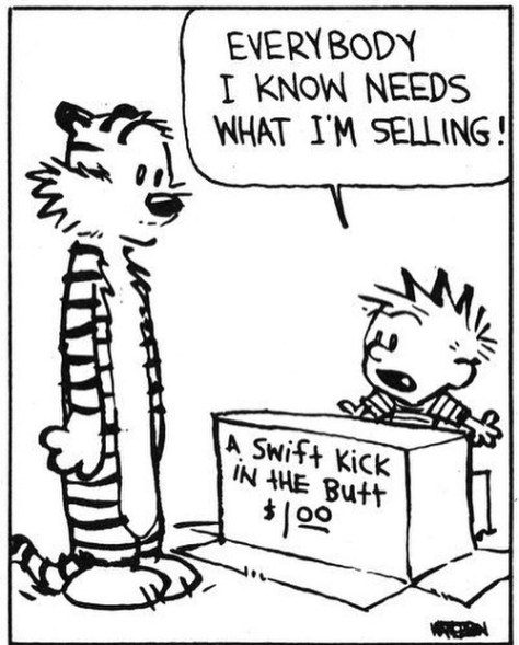 Same here, Calvin. 🙃