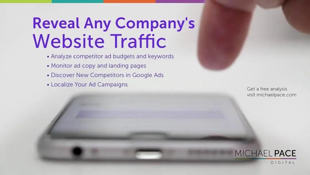 Reveal Any Company's Website Traffic