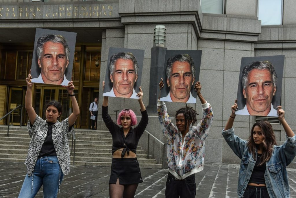 This image has an empty alt attribute; its file name is epstein-protest-1200x801-1024x684.jpg