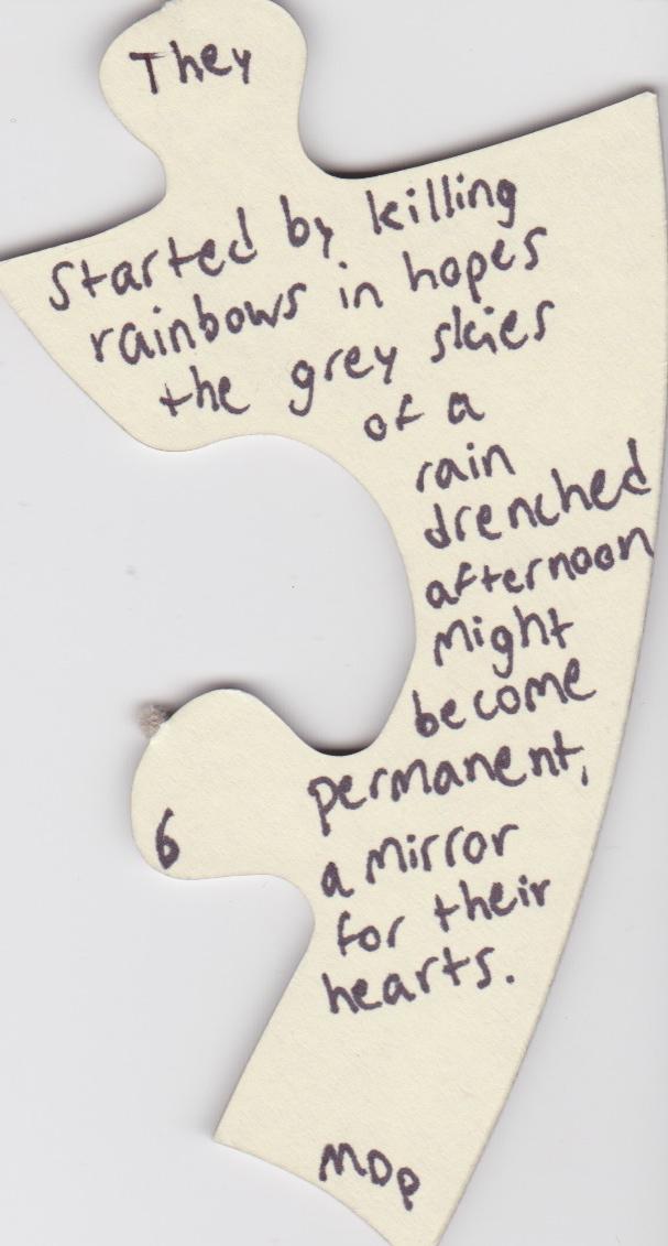 Puzzle Piece Poems  Michael Prihoda