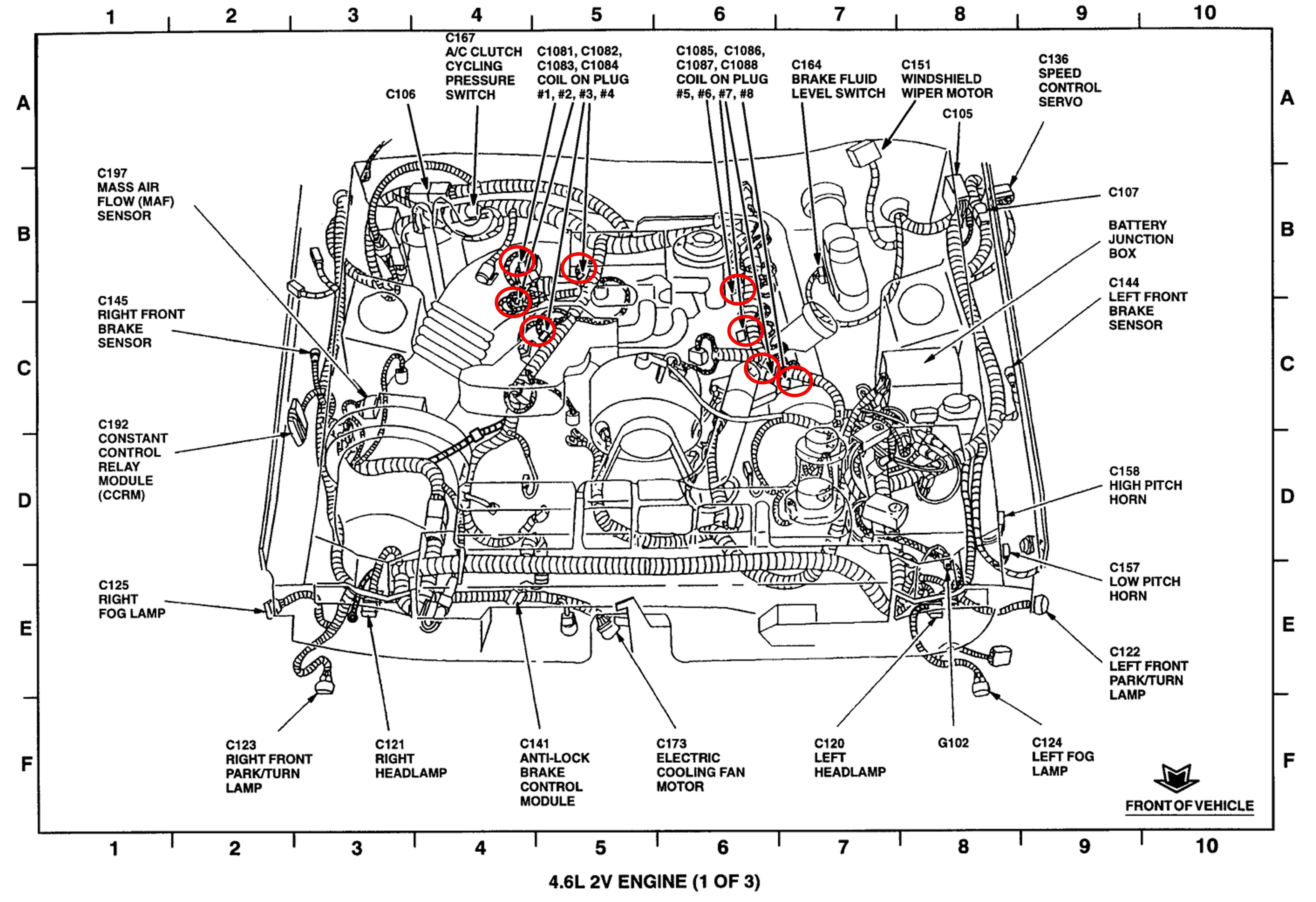 2003 ford mustang gt engine diagram wiring diagram fuse box u2022 4 6 v8 ford [ 4817 x 3300 Pixel ]