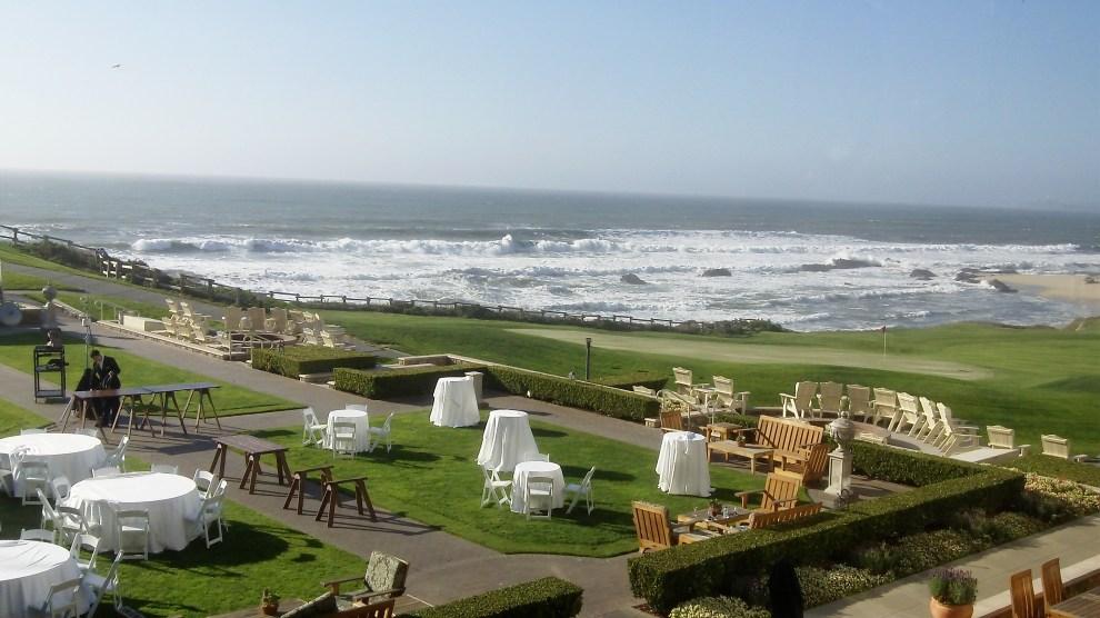 Ocean View from Ritz-Carlton, Half Moon Bay