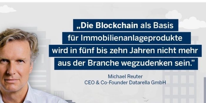 Michael Reuter -The RAAY RE Digital Operating System provides blockchain-based products and services for digitization in the real estate industry.