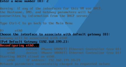 Log Insight VAMI Config_net Default Gateway Ravello