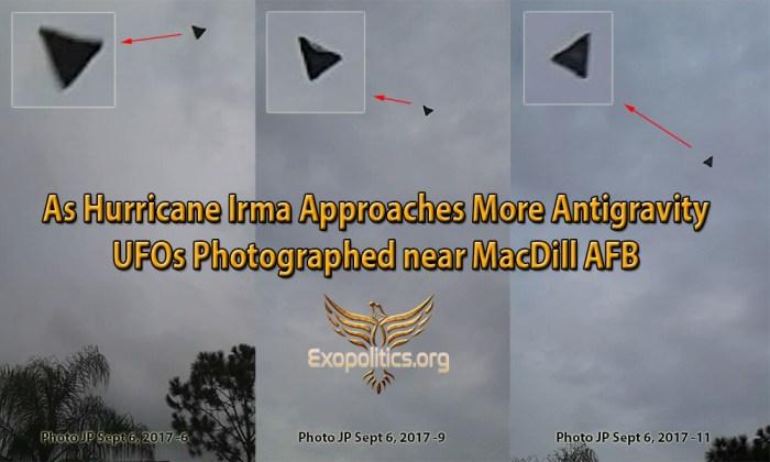 Irma Antigravity UFOs MacDill