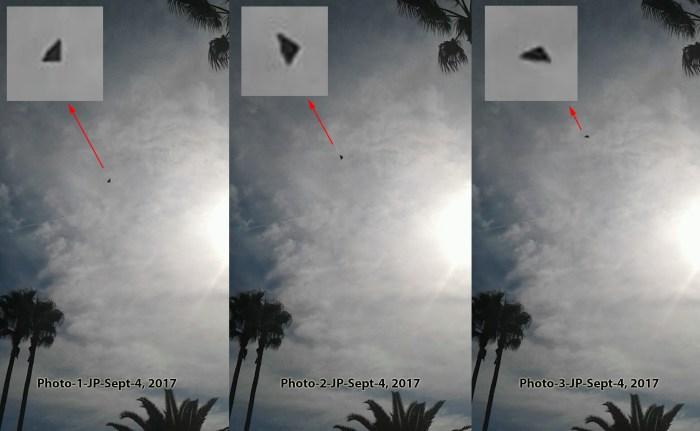 Photo Sept 4 UFO Triangle