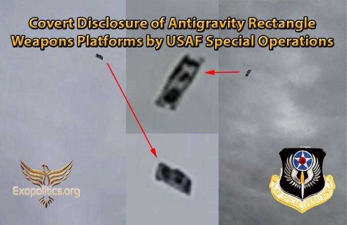 Flying Rectangle Platforms Sanctioned Disclosure