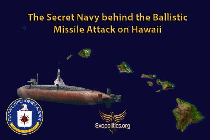Secret Navy behind Hawaii Attack