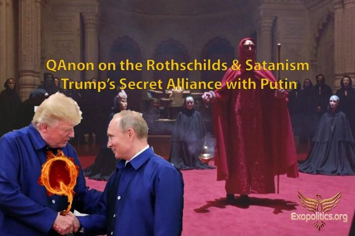 QAnon on Rothschilds and Satanism