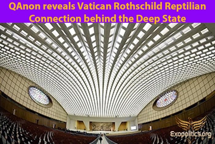 QAnon reveals Vatican Rothschild Reptilian Connection