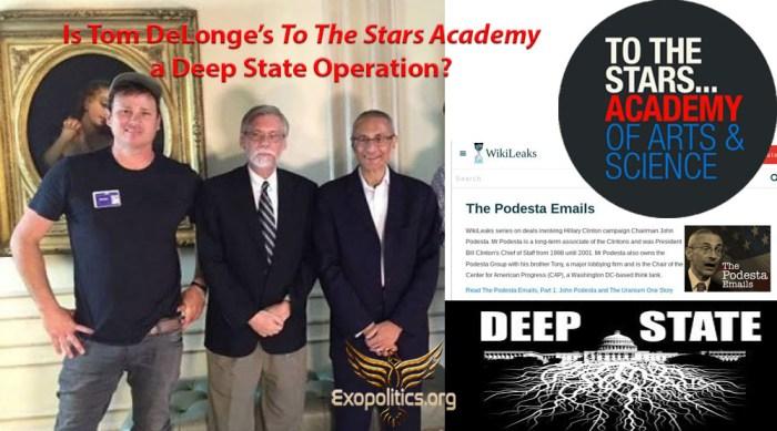 DeLonge To The Stars Deep State
