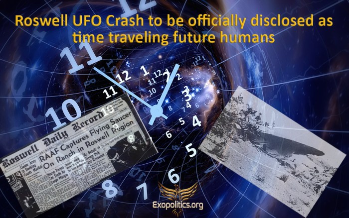 Roswell UFO Disclosure Limited Hangout