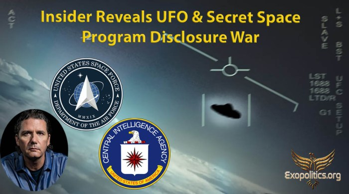 UFO Disclosure War between White Hats and Deep State