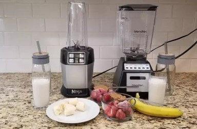 Blendtec vs. Ninja: Best blender for smoothies