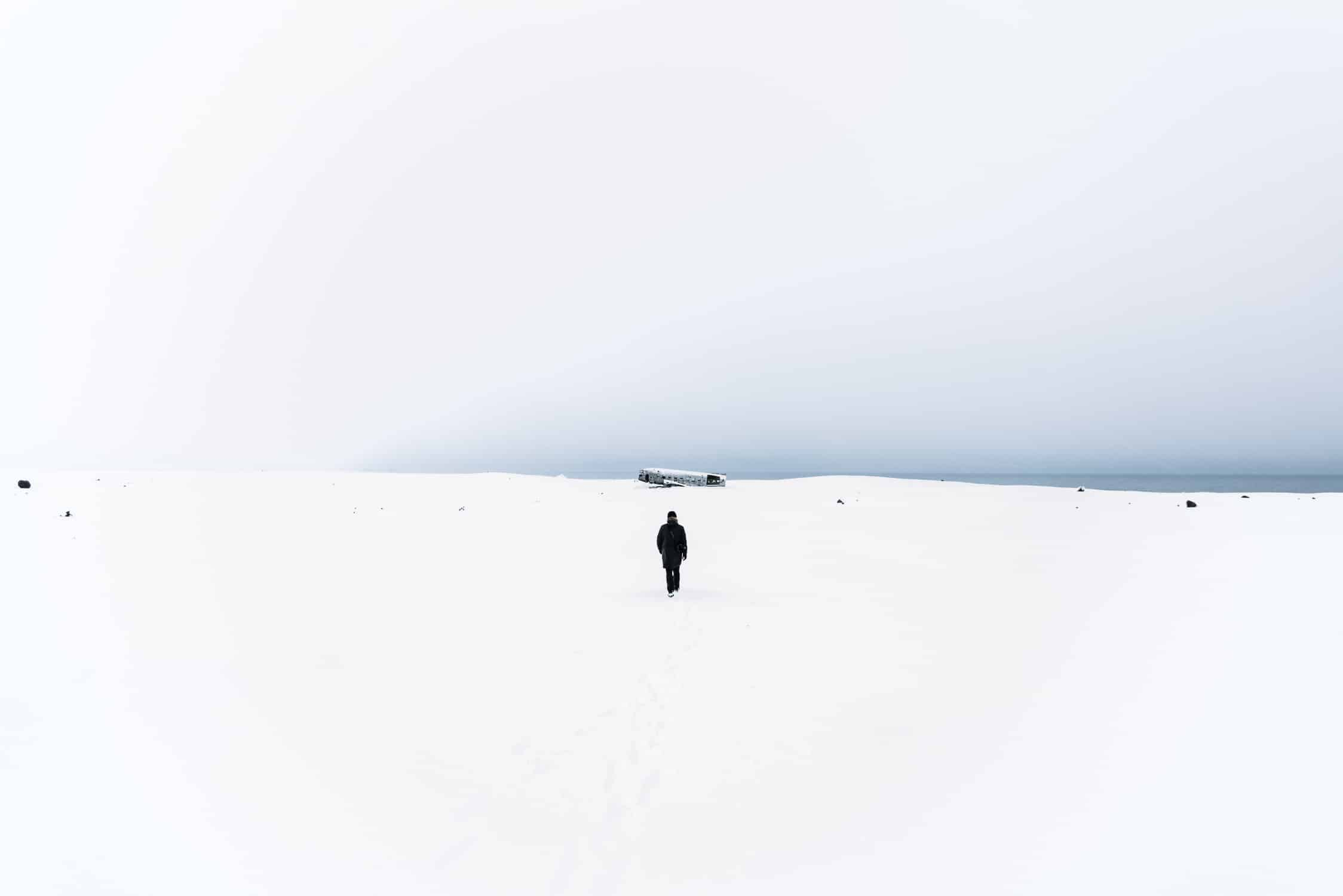 North tells the dramatic story of a polar expedition and explores the landscapes of the cold north of Iceland. By Michael Schauer