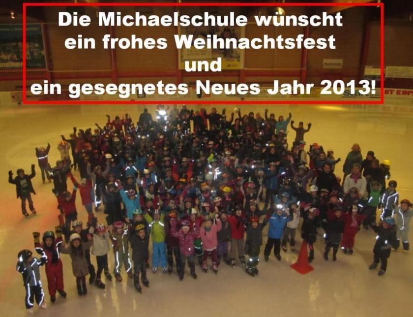 Weihnachts- und Neujahrsgruß der Michaelschule 2012