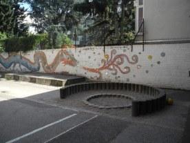 Der Michaelsdrache in der Rheinbacher Straße