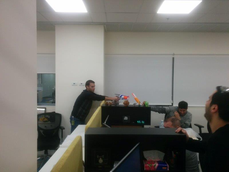 In-office Nerf wars