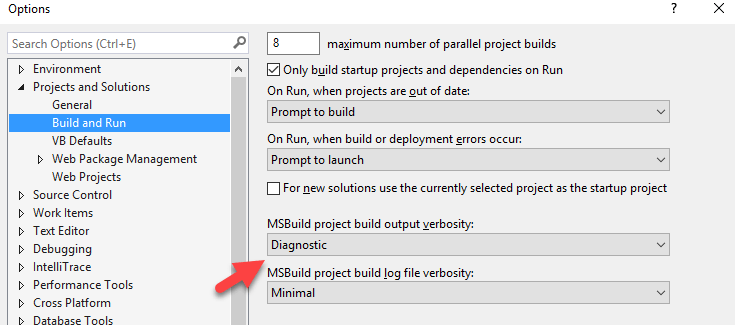 Why Visual Studio keeps rebuilding my projects for no good
