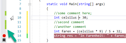 Visual Studio 2017 Extension tutorial 8: Add UI in the indicator